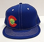 Colorado C Marijuana Leaf Hat