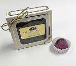 Dark Chocolate Raspberry 4 Piece Truffle