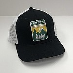 Black Colorado Badge Hat