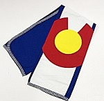 Colorado Flag TeaTowel