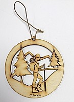 Hiker Ornament